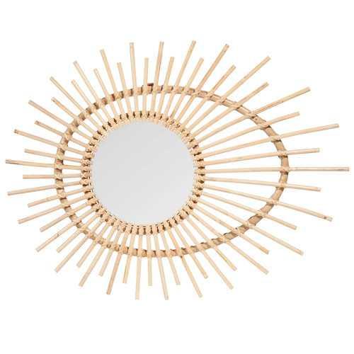 P pites chez maisons du monde lifestyle for Mini miroir rotin