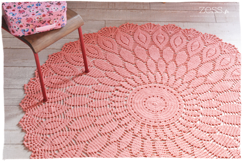 diy le tapis au crochet proposition commandes lifestyle mode d co maman. Black Bedroom Furniture Sets. Home Design Ideas