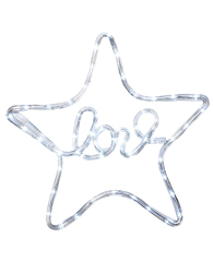 étoile lumineuse love