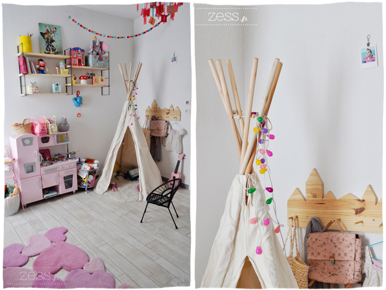 D co la chambre de lily rose partie 2 2 lifestyle mode d co maman diy - Deco chambre fille 2 ans ...