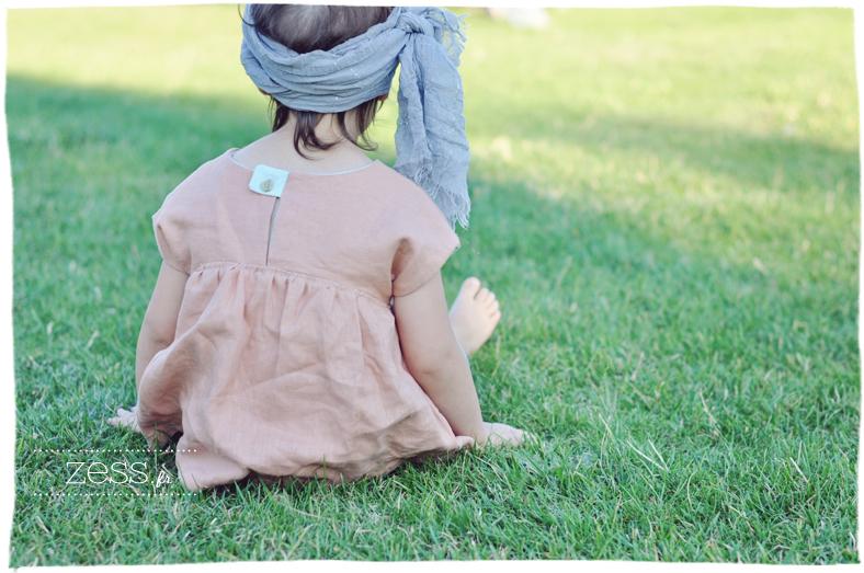 couture diy blouse enfant look