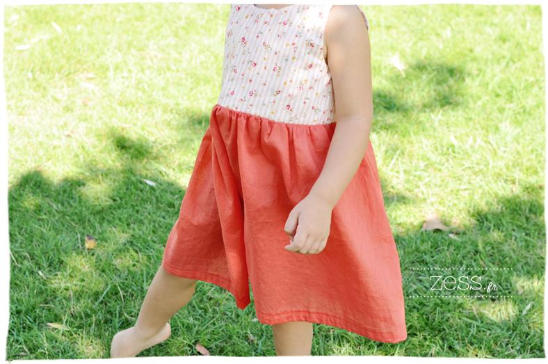 robe couture sewing kid dress liberty blog maman