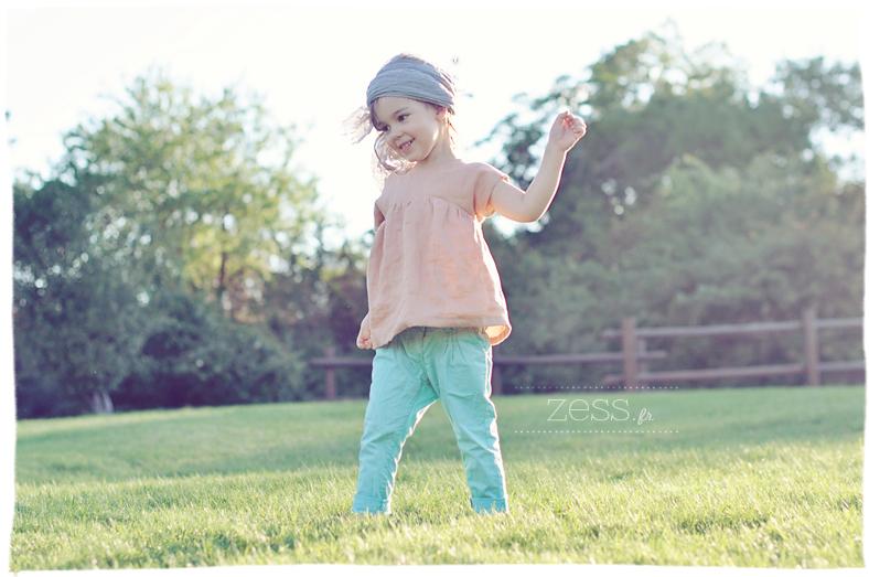 blouse enfant couture diy look