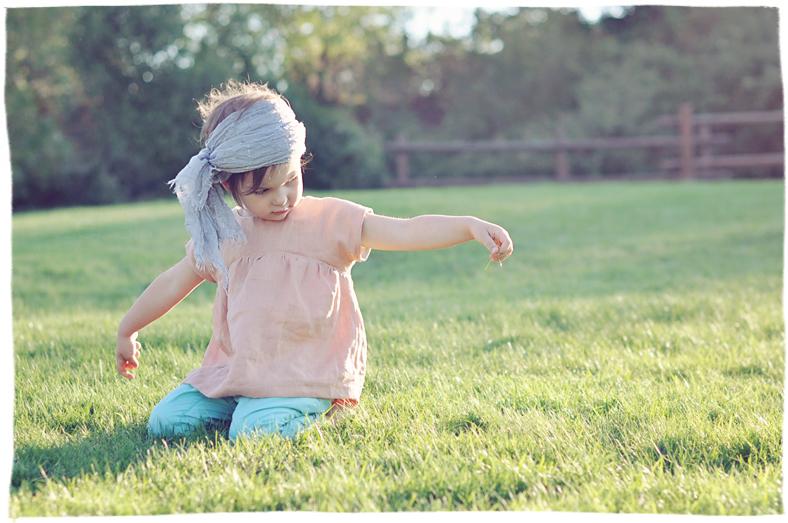 blouse enfant couture diy look lin