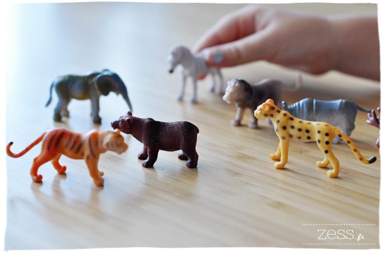 miniature animaux afrique ours lion tigre éléphant diy pot
