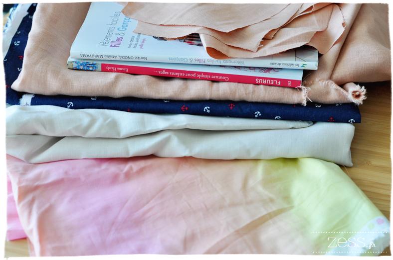 couture vetement faciles filles et garcon tissu