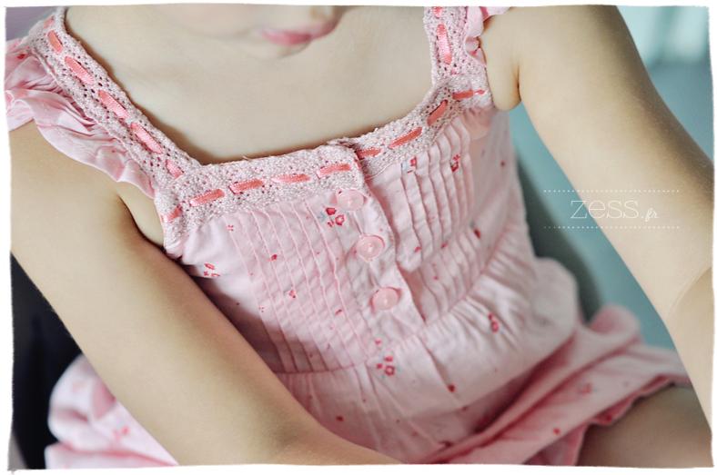 robe fleuri enfant rétro blog maman