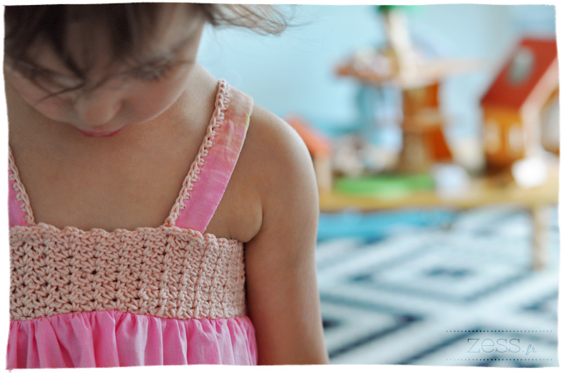 tuto diy robe enfant crochet pattern