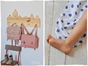 1ère rentrée maternelle préparatif foulard chat look cartable