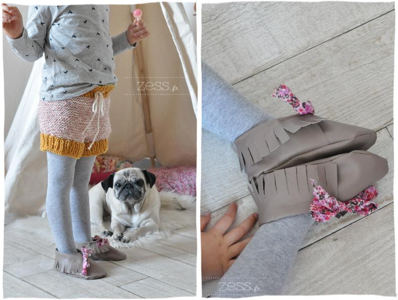 knit tricot bloomer short enfant kid