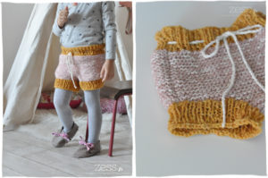 bloomer short enfant tricot knit