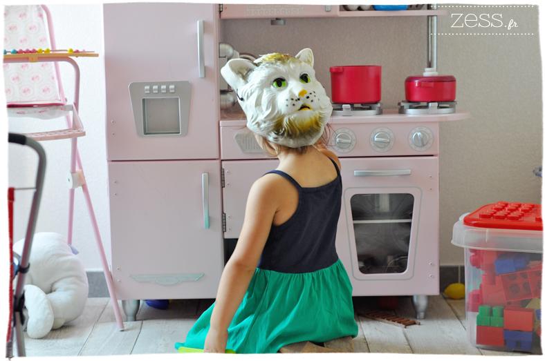 cuisine enfant cuisinière kidkraft rose vintage