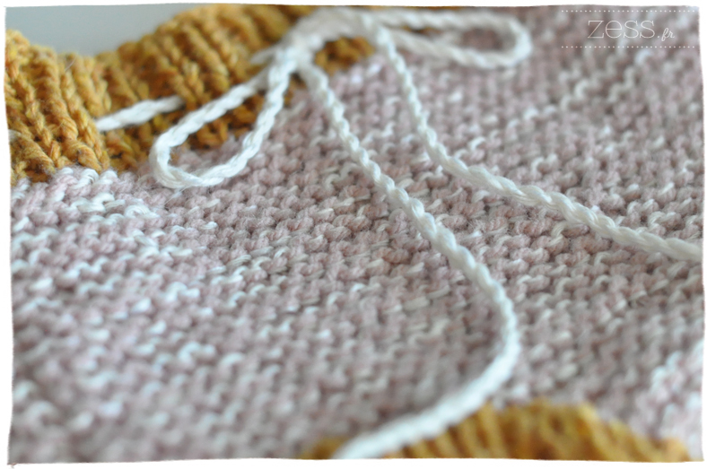 macro tricot mousse icord
