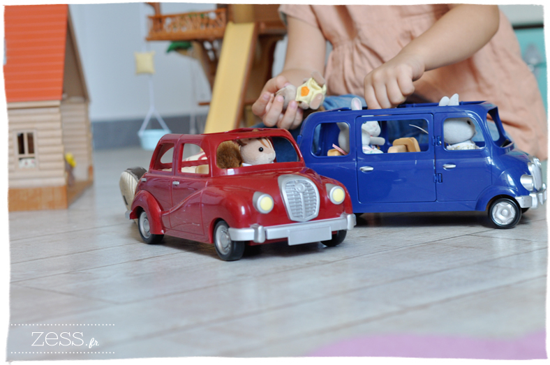 sylvanian les petits malins jouets blog maman van voiture