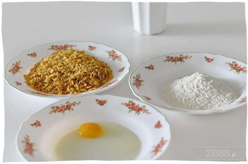 recette crispy tenders kfc poulet pané céréale