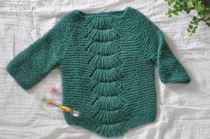 pull tricot camilla kid 4ans cascade eco