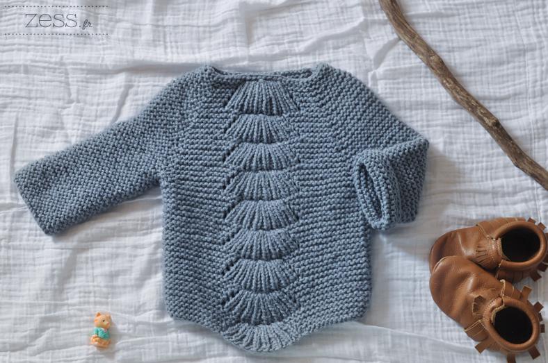 Le patron du Camilla kid était tellement agréable à tricoter que j en ai  fait 2 (et aussi parce que ça taille super grand et que je voulais que  Lily-Rose ... e0cb74fb5cb3