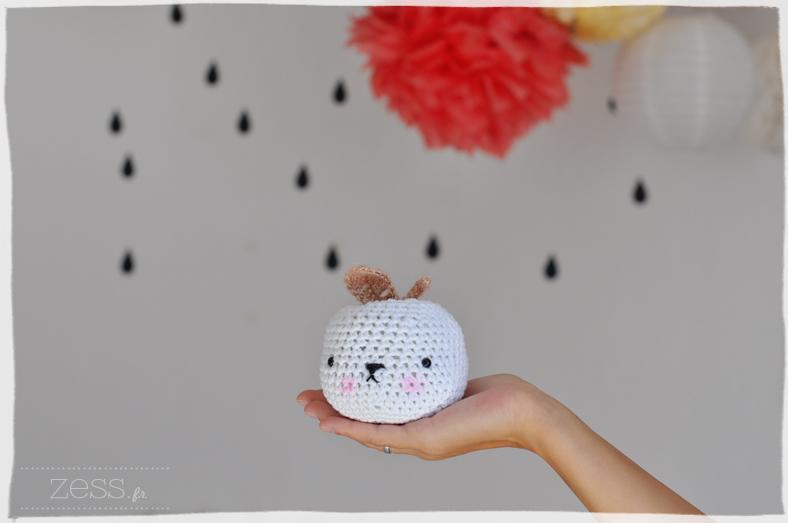 pomme tournicote crochet amigurumi