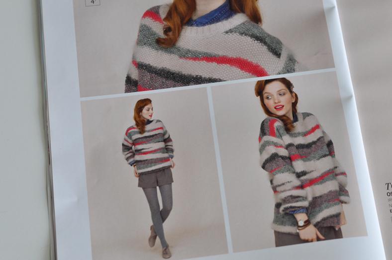 Le pull Phildar (catalogue n°94)   en changeant les coloris on peut obtenir  un beau pull d inspiration Roseanna 65d7c1d3f022