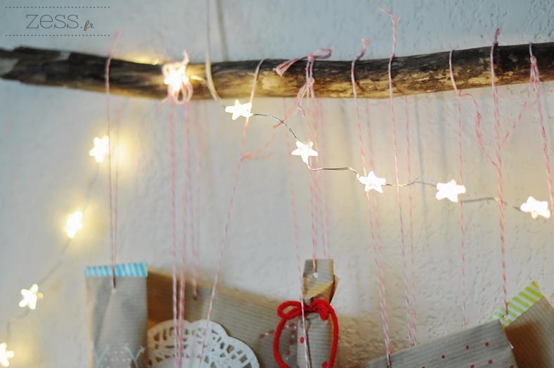 guirlande lumineuse branche étoile