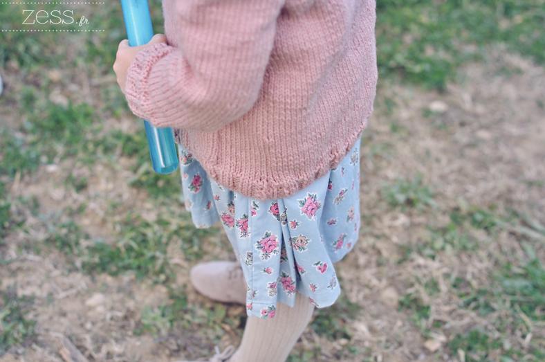 gilet phildar enfant tricot