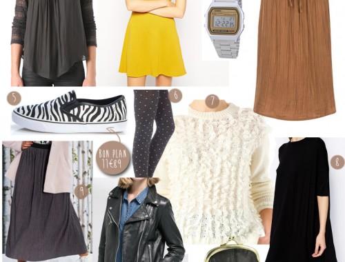 selection shopping femme vintage casio jupe longue perfecto vans