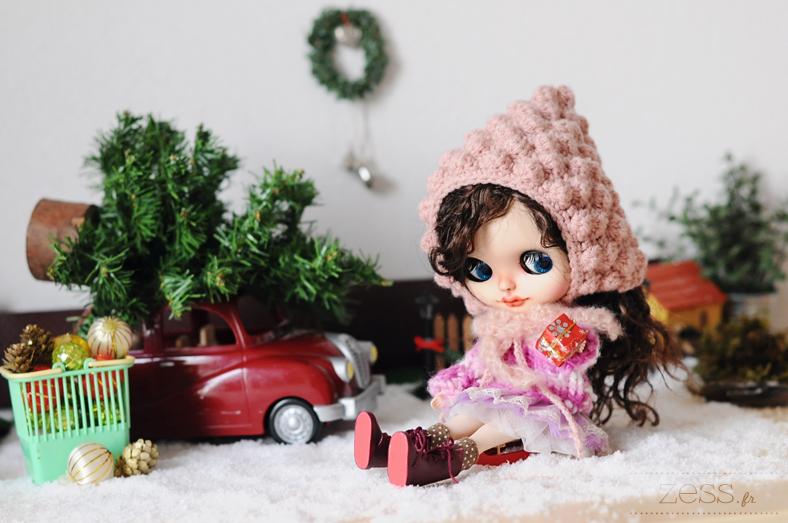 blythe doll poupée noel christmas