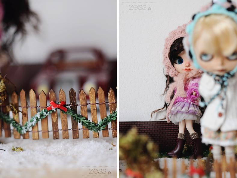 blythe doll dollhouse scene