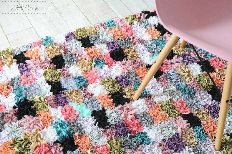 DIY rug fabric