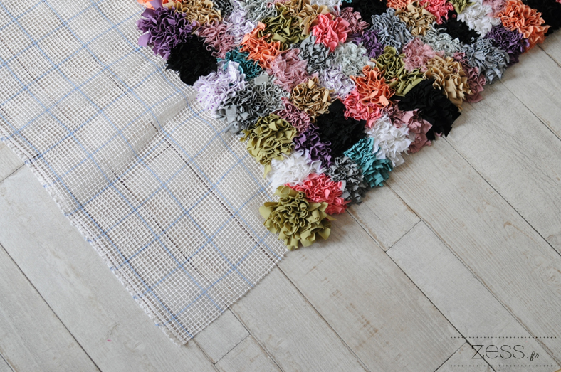 canevas pou tapis handmade DIY