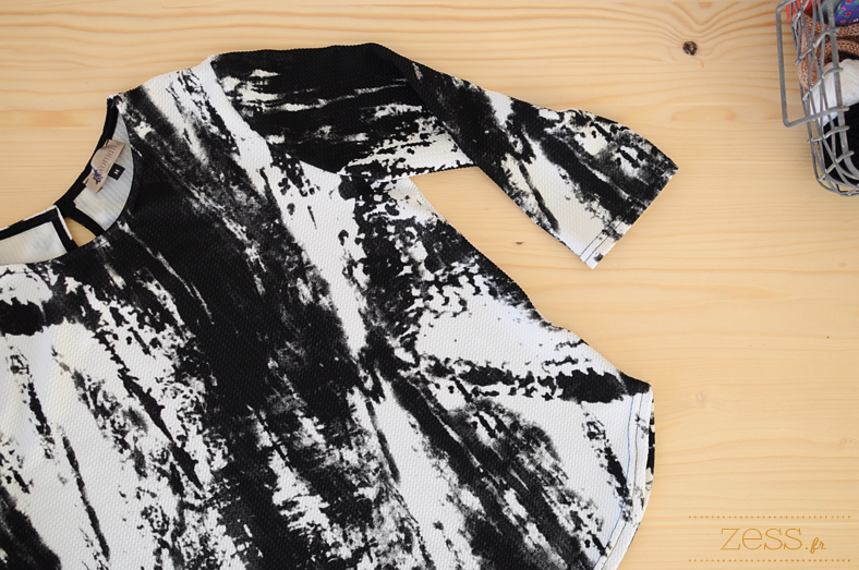 top tie and dye marble