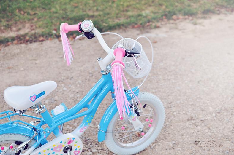 vélo rosina vintage bleu