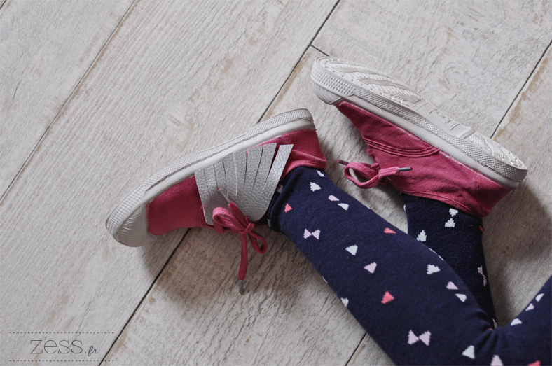 bensimon collant triangles kid