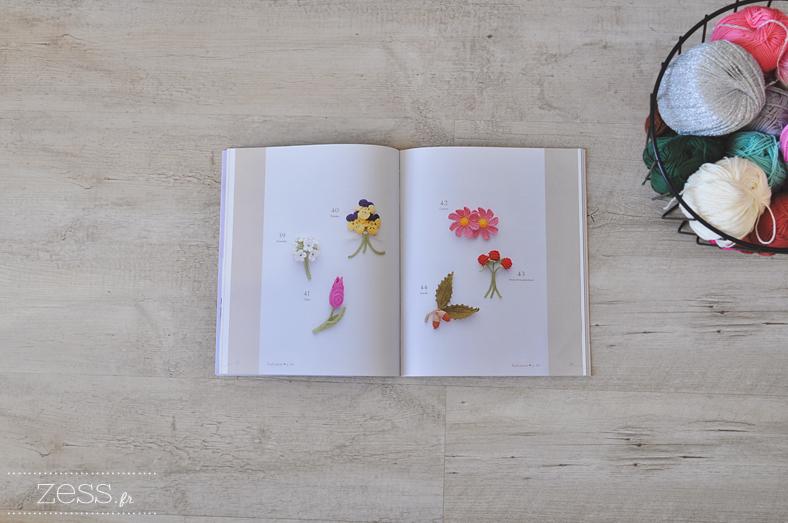 livre crochet motifs girly