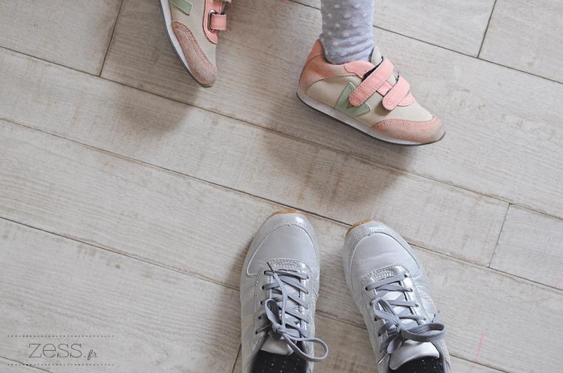 Sneakers   Veja pour Lily-Rose, Jennyfer pour moi (soldées ici à 7€, je les  ai payées 25€ grr). ce8e1ccce9f0