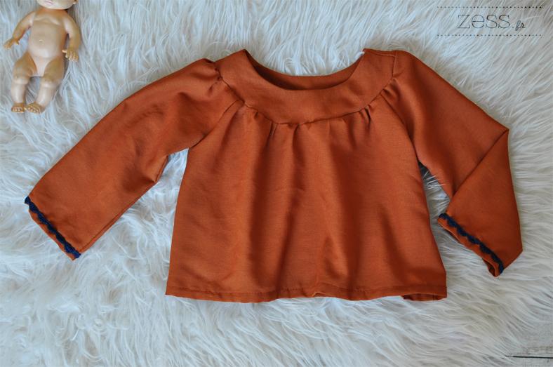 blouse modèle patron raglan