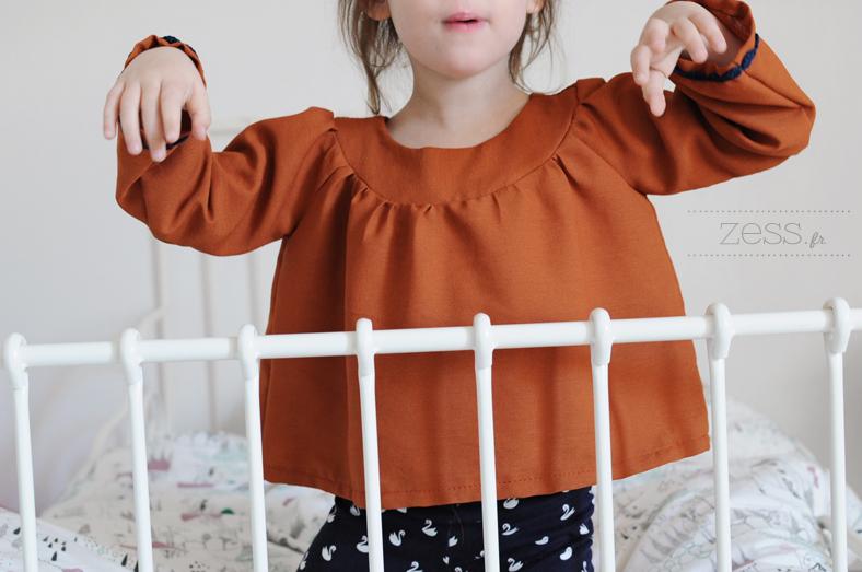 couture blouse livre enfant