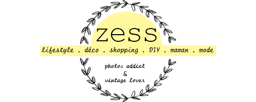 Zess.fr // Lifestyle . mode . déco . maman . DIY