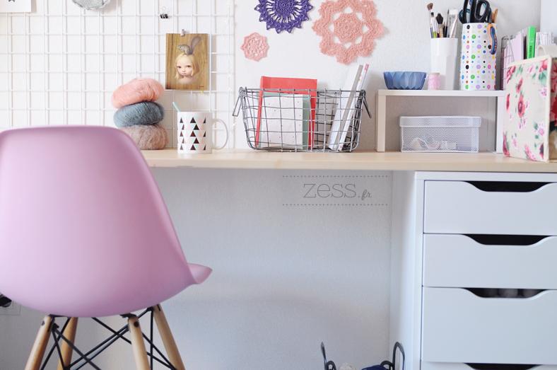 Déco : mon graaand bureau zess.fr lifestyle . mode . déco
