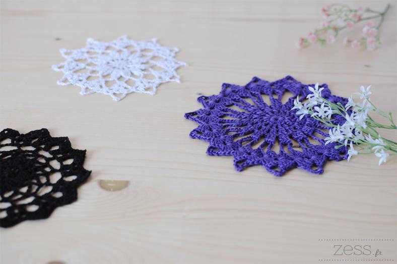 napperon crochet handmade