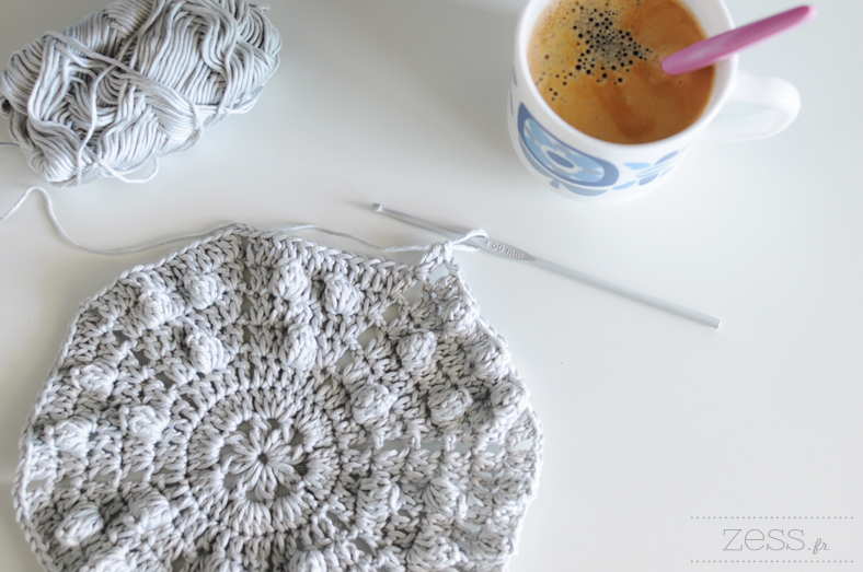pattern vintage blanket crochet english