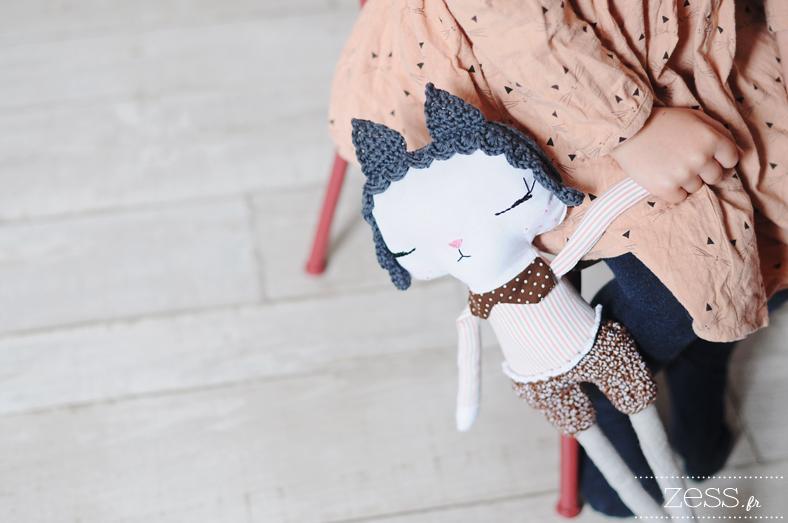 poupées couture fait maison