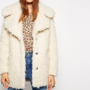 manteau moumoute - soldé 29€