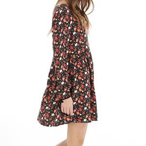 robe fleurie rétro 29€