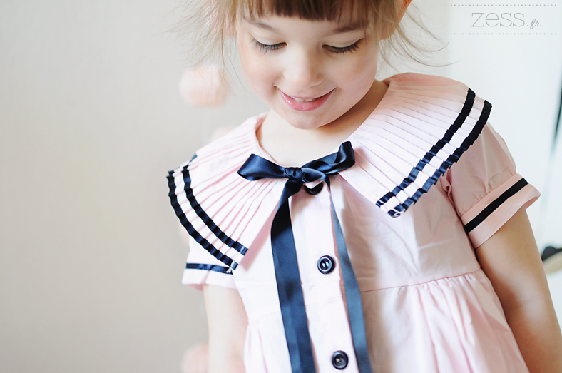 robe marin fille