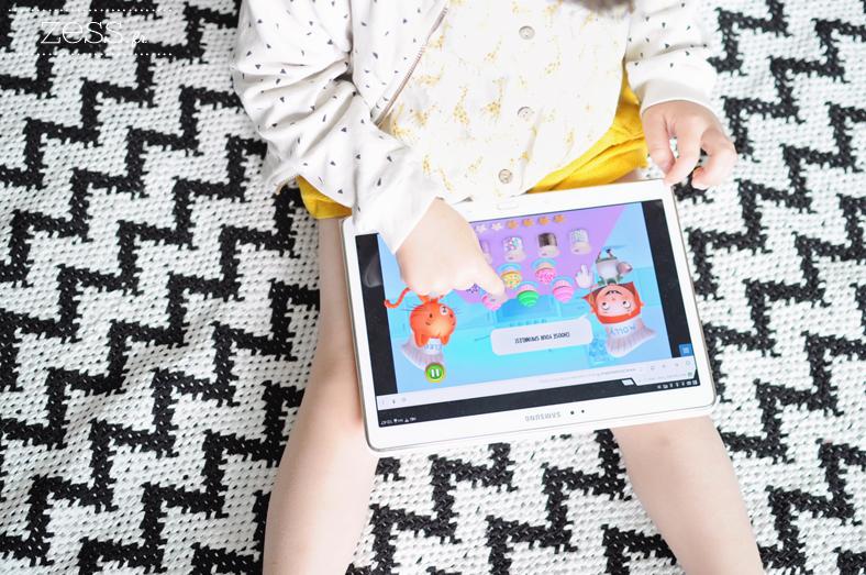 jeux enfant tablette