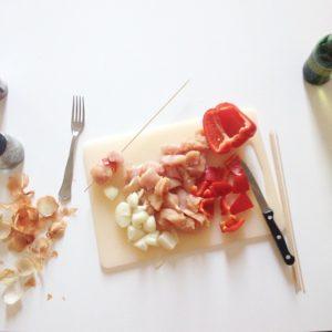 Jaime pas cuisiner mais jaime bien faire des brochettes ahellip