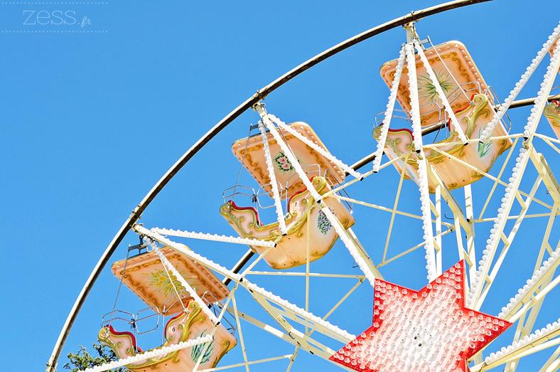grande roue fête foraine