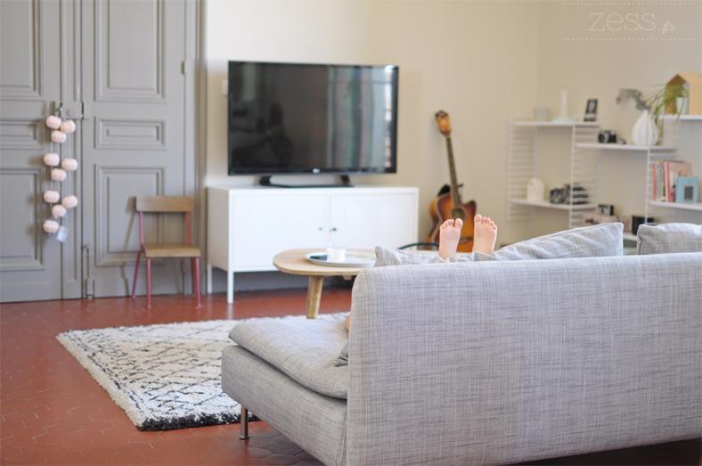 salon table basse tapis berbere zessfr lifestyle With tapis berbere avec gigogne canape