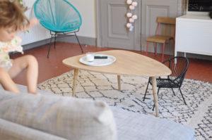 salon vintage tapis berbere